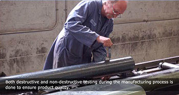 Thin wall steel tubing destructive testing ensures quality