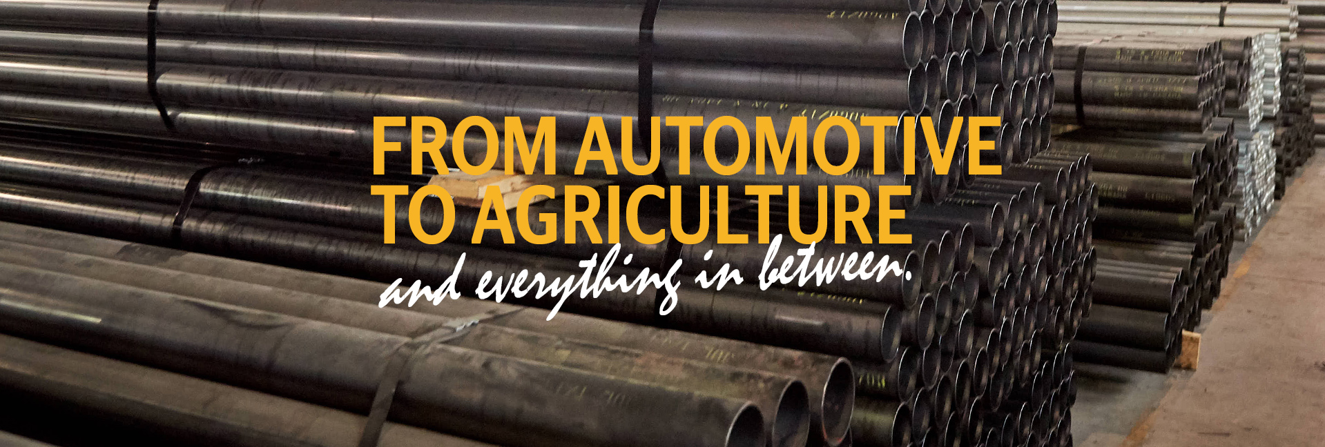 From automotive to agriculture and everything in between